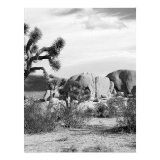 """Parque nacional de la yuca de B&W Folleto 8.5"""" X 11"""""""