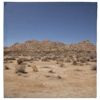 Parque nacional de la yuca servilleta de papel