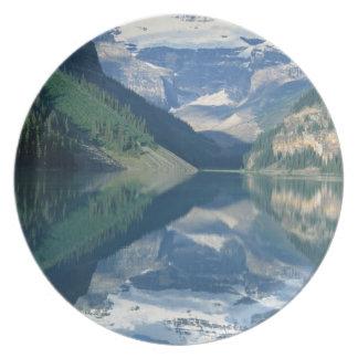 Parque nacional de Lake Louise, Banff, Alberta, Plato Para Fiesta