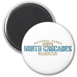 Parque nacional de las cascadas del norte imán redondo 5 cm