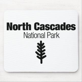 Parque nacional de las cascadas del norte tapete de raton