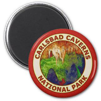 Parque nacional de las cavernas de Carlsbad Imán Para Frigorífico