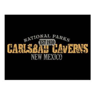 Parque nacional de las cavernas de Carlsbad Postal