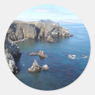 Parque nacional de las Islas del Canal de la isla Pegatina Redonda