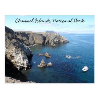 Parque nacional de las Islas del Canal de la isla Tarjetas Postales