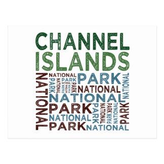 Parque nacional de las Islas del Canal Postal