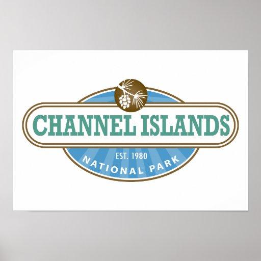 Parque nacional de las Islas del Canal Poster