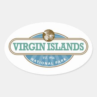 Parque nacional de las Islas Vírgenes Colcomanias Ovaladas