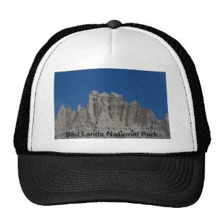 Parque nacional de las malas tierras de Dakota del Gorro De Camionero