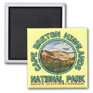 Parque nacional de las montañas bretonas del cabo imán