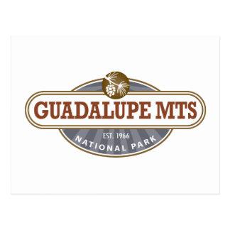 Parque nacional de las montañas de Guadalupe Postal
