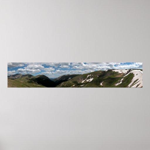 Parque Nacional de las Montañas Rocosas 2 panorámi Impresiones