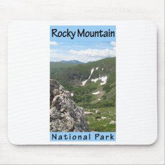 Parque Nacional de las Montañas Rocosas Alfombrillas De Ratón