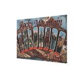 Parque Nacional de las Montañas Rocosas, Colorado Impresión En Lienzo Estirada