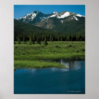 Parque Nacional de las Montañas Rocosas Colorado Poster