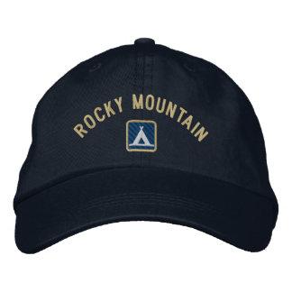 Parque Nacional de las Montañas Rocosas Gorra De Béisbol