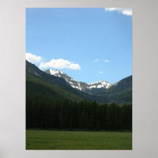 Parque Nacional de las Montañas Rocosas II Póster