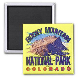 Parque Nacional de las Montañas Rocosas Imán De Frigorífico