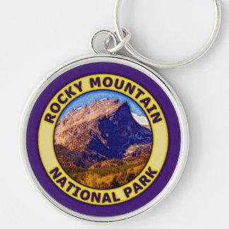 Parque Nacional de las Montañas Rocosas Llavero Redondo Plateado
