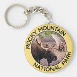 Parque Nacional de las Montañas Rocosas Llavero Personalizado