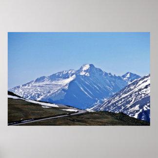 Parque Nacional de las Montañas Rocosas Póster