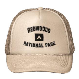 Parque nacional de las secoyas gorra