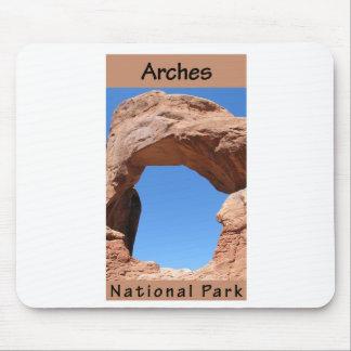 Parque nacional de los arcos alfombrilla de raton