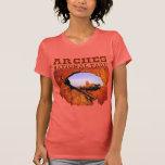Parque nacional de los arcos camisetas