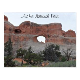 Parque nacional de los arcos postales