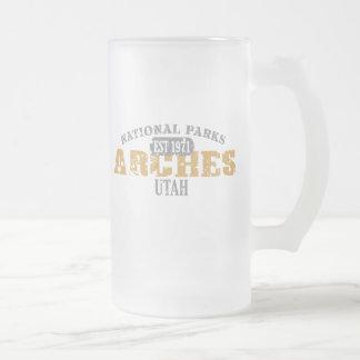 Parque nacional de los arcos taza de cristal