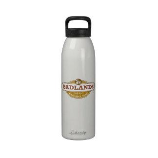 Parque nacional de los Badlands Botella De Agua Reutilizable