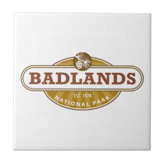 Parque nacional de los Badlands Tejas Cerámicas
