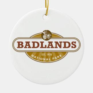 Parque nacional de los Badlands Adorno