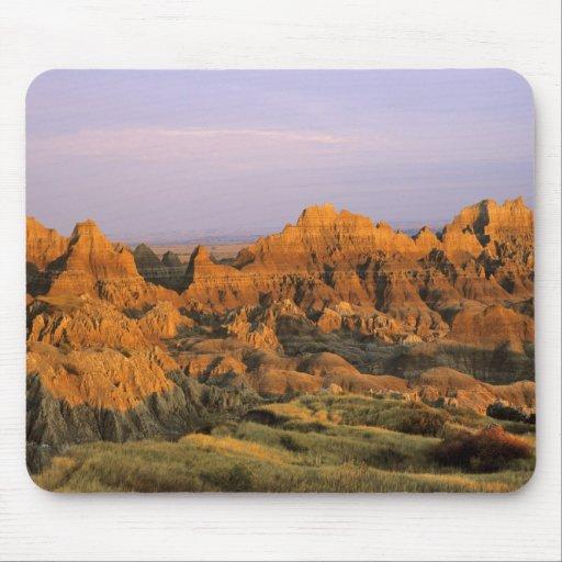 Parque nacional de los Badlands en Dakota del Sur Mouse Pad
