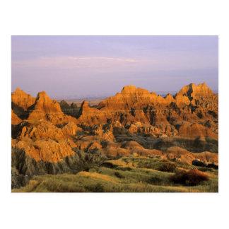 Parque nacional de los Badlands en Dakota del Sur Postales