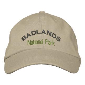 Parque nacional de los Badlands Gorra De Béisbol Bordada