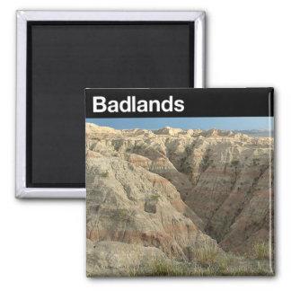 Parque nacional de los Badlands Imanes De Nevera