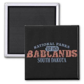 Parque nacional de los Badlands Imán Cuadrado