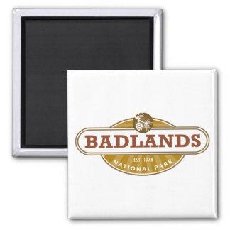 Parque nacional de los Badlands Imán De Frigorífico