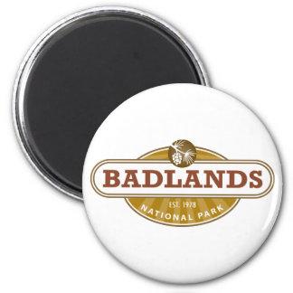 Parque nacional de los Badlands Imán De Nevera