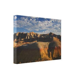 Parque nacional de los Badlands Impresión De Lienzo