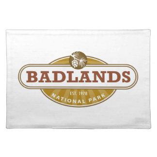 Parque nacional de los Badlands Manteles