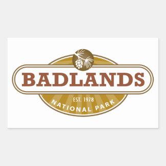 Parque nacional de los Badlands Etiquetas