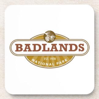 Parque nacional de los Badlands Posavasos De Bebidas