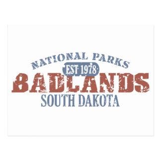 Parque nacional de los Badlands Postal