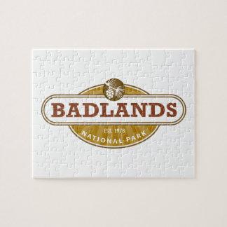 Parque nacional de los Badlands Puzzle Con Fotos