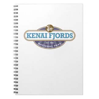 Parque nacional de los fiordos de Kenai Spiral Notebooks