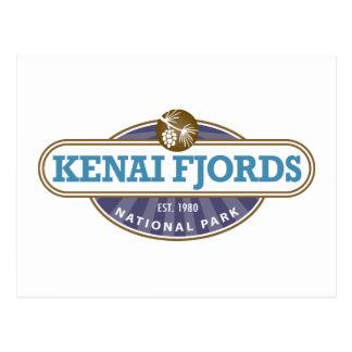 Parque nacional de los fiordos de Kenai Tarjeta Postal