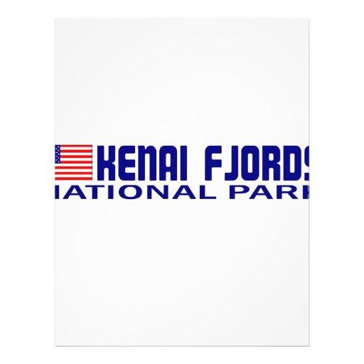 Parque nacional de los fiordos de Kenai Tarjetón
