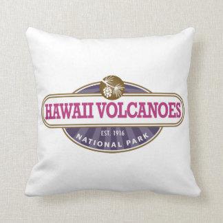 Parque nacional de los volcanes de Hawaii Cojín Decorativo